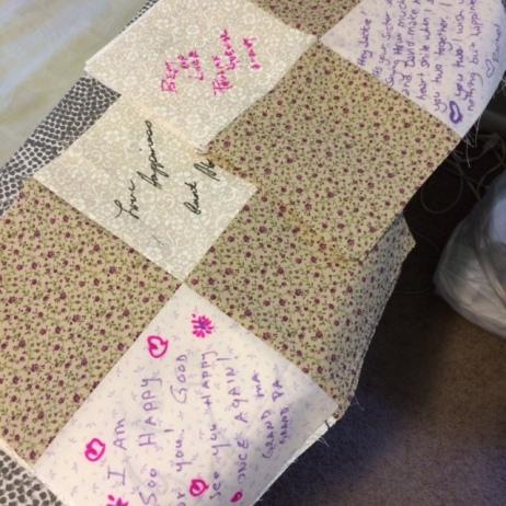 wedding quilt blocks