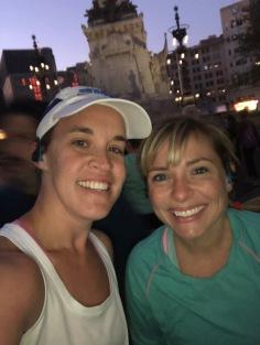 women before half marathon