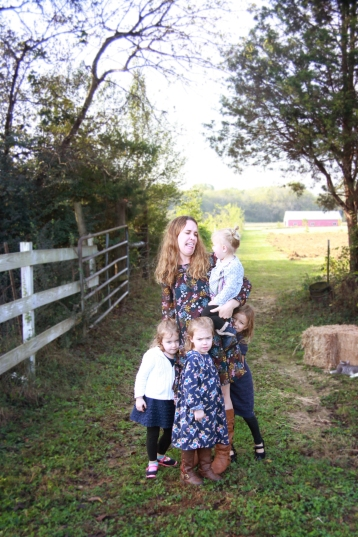 aunt with nieces