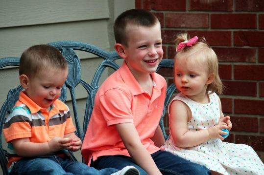 children on Easter