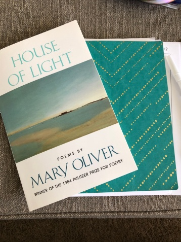 Mary Oliver and journal