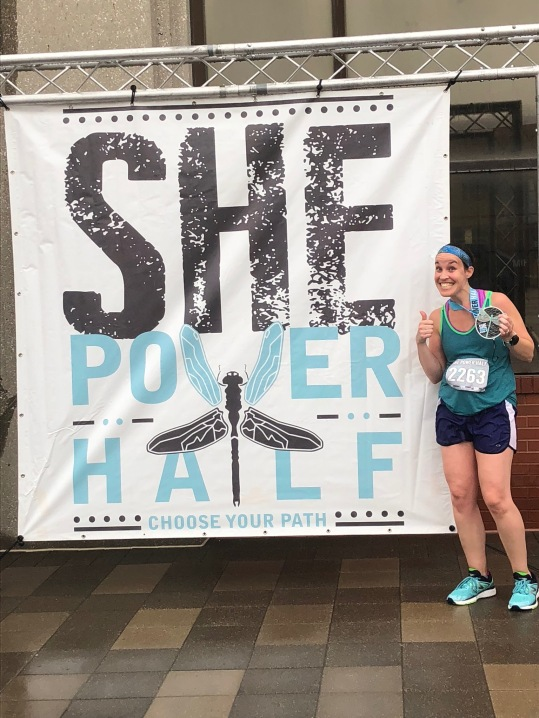 she power half marathon