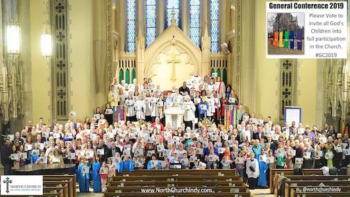 Group at North Church Indy